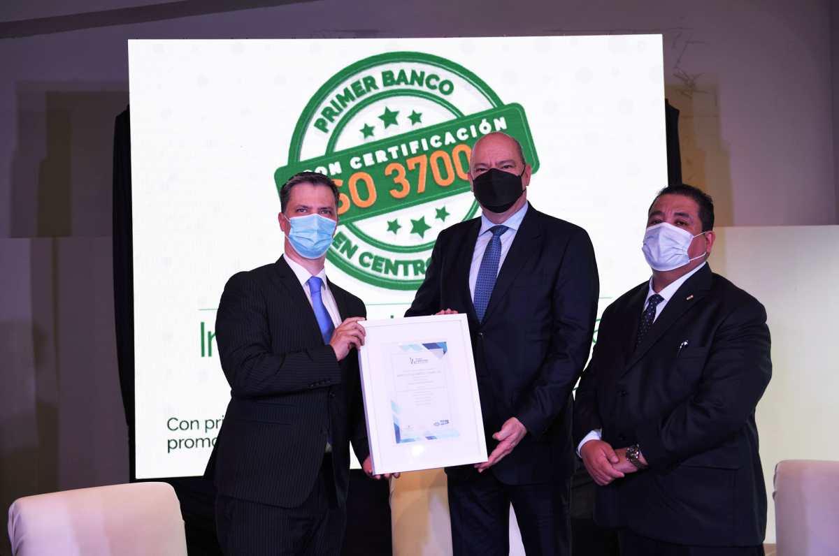 BANRURAL obtiene certificación antisoborno