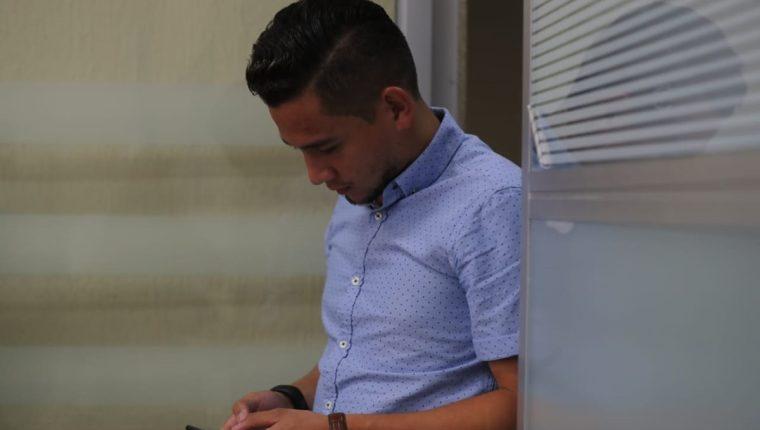 Hijo del Presidente Jimmy Morales, José Manuel Morales, pidió permiso al tribunal para salir del departamento de Guatemala. (Foto Prensa Libre: Erick Avila)