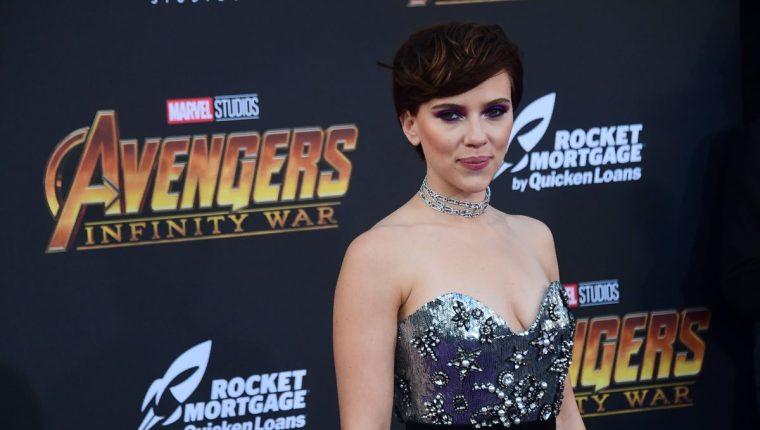 Scarlett Johansson, actriz estadounidense de 33 años, comenzó su carrera en los noventa. (Foto Prensa Libre: AFP).