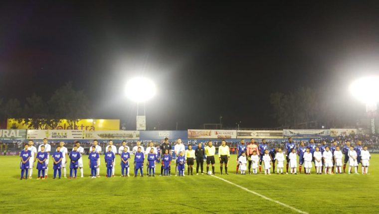 La Bicolor venció 1-0 a Cuba el sábado 19 de agosto en el estadio Mario Camposeco. (Foto Prensa Libre: Francisco Sánchez)