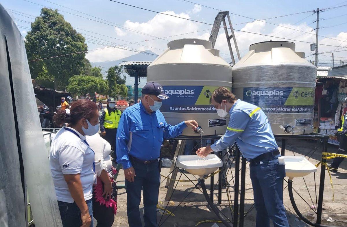 Empresa implementa sistemas de higiene para millones de centroamericanos