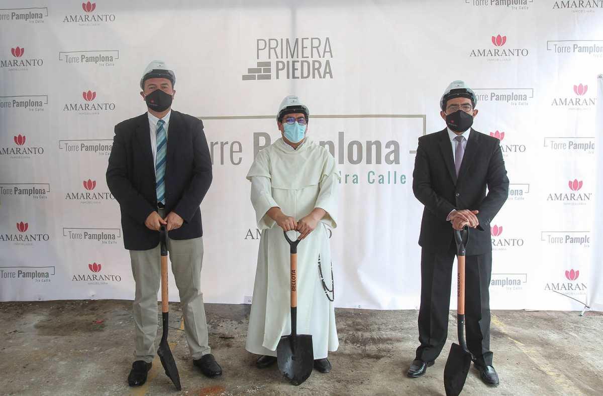 Inicia construcción de segunda torre de apartamentos en Pamplona