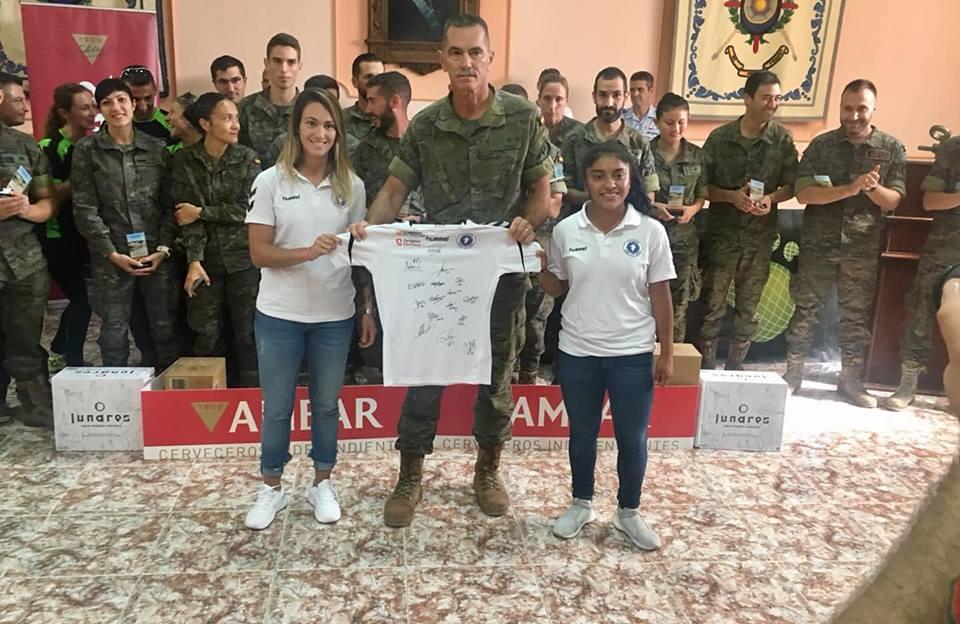 Madelyn Ventura regresa a Zaragoza, participa en evento público y recibe primera convocatoria