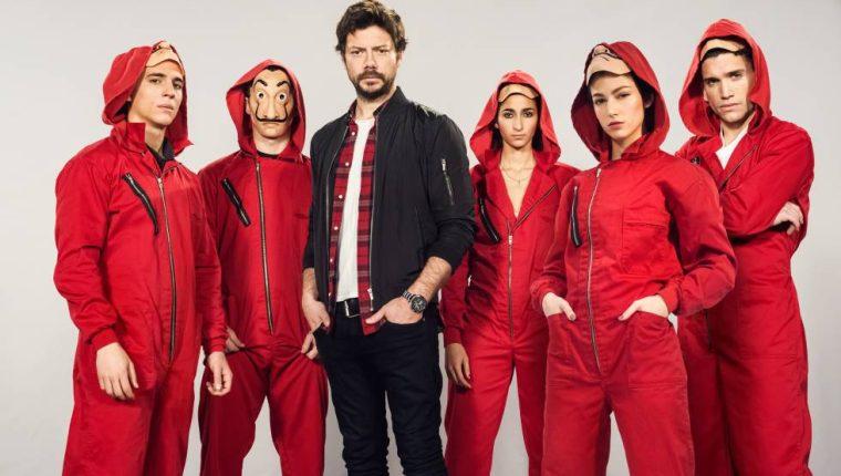 La Casa de Papel es una de las series en español más vistas en Netflix (Foto Prensa Libre: Netflix).