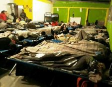 La Conred prepara varios albergues para atender a las personas vulnerables por la época fría. (Foto Prensa Libre: Conred)