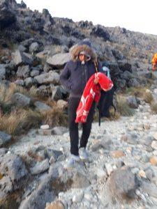 Turistas en Tajumulco