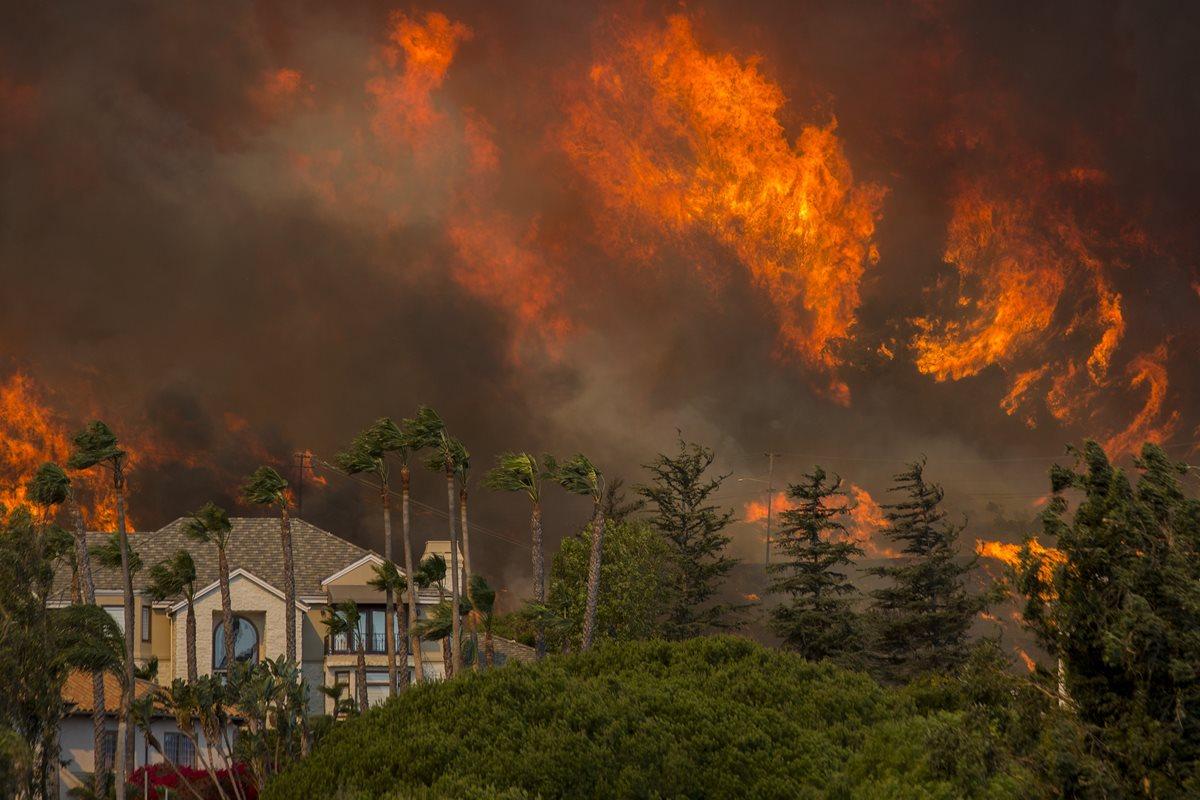 Devastador incendio en California