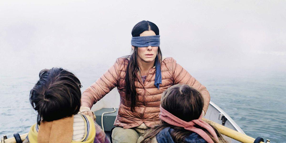 La película Bird Box, protagonizada por Sandra Bullock, se ha convertido en una de las cintas más populares de Netflix. (Foto Prensa Libre: Netflix)