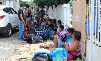 Imagen del 2015, año en el que miles de cubanos y haitianos se movilizaron por Panamá con la intención de llegar a EE. UU. Puerto Obaldía es el primer poblado que se encuentra al cruzar Colombia. (Foto Prensa Libre: Hemeroteca PL)