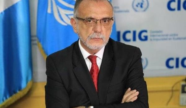 El comisionado Iván Velásquez espera poder regresar al país en enero del 2019. (Foto Prensa Libre: Hemeroteca PL)