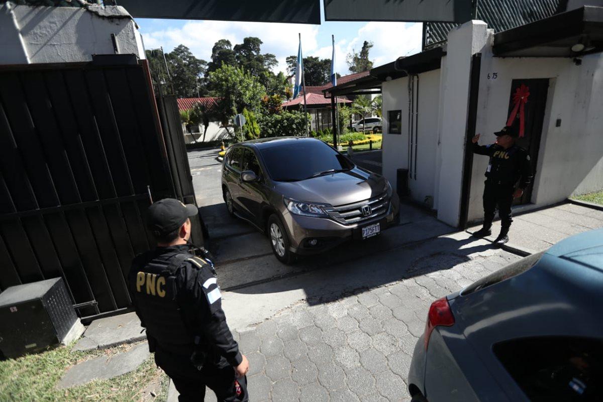La notificación de Migración para los 11 funcionarios de Cicig llegó ayer al mediodía. (Foto Prensa Libre: Hemeroteca PL)
