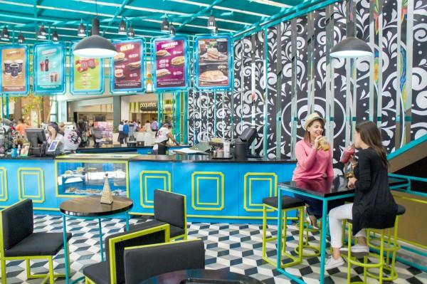 Gitane cuenta con y 6 franquicias y 50 tiendas propias en Guatemala. Muestran diferentes tipos de diseños de quioscos. Este se ubica en Parque Las Américas. (Foto, Prensa Libre: Inversiones Moka).