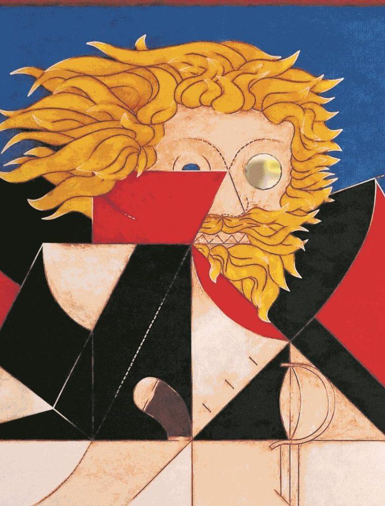 Pintura de Luis Díaz (Foto: Hemeroteca PL).