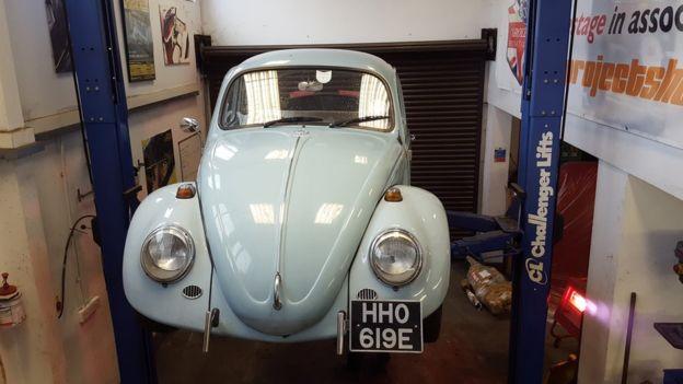 Los viejos Beetles de VW han sido codiciados durante mucho tiempo