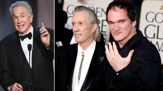 Warren Beatty le dijo no a Quentin Tarantino para no pasar mucho tiempo lejos de sus hijos. David Carradine se quedó con el papel. GETTY IMAGES