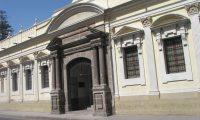 En las instalaciones del Museo de la Universidad de San Carlos se pretendió llevar a cabo la sesión para discutir el tema de tercer país seguro.  (Foto: Prensa Libre: Hemeroteca PL)