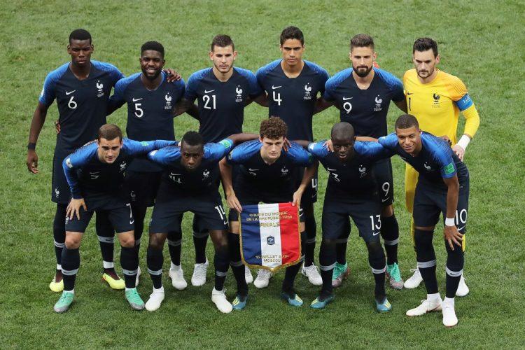 La selección de Francia ganó el campeonato mundial cuando tambien fue sede en el año 1998.