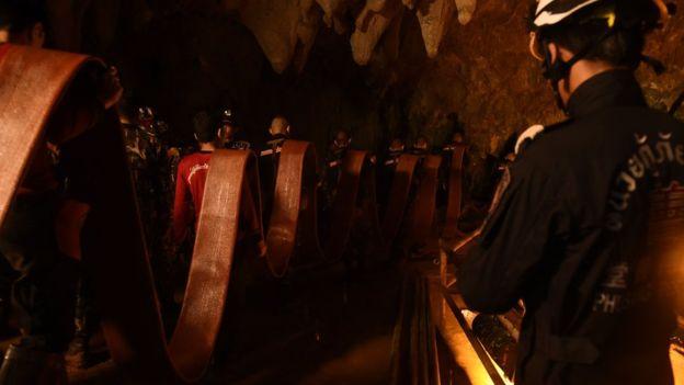 En el interior de la cueva la temperatura es de 26ºC. (Getty Images)