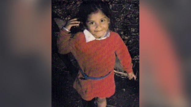 Rubie Marie, en una foto de cuando tenía 5 años. RUBIE MARIE