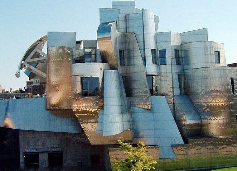 El Museo de Arte Weisman fue diseñado por Frank Gehry, como el Guggenheim de Bilbao.