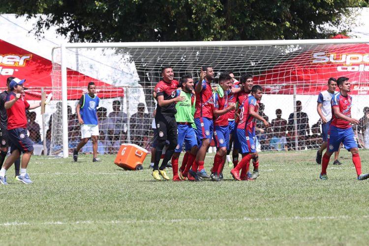 El plantel de Xelajú volverá a jugar una final seis años después. (Foto Prensa Libre: Francisco Sánchez)