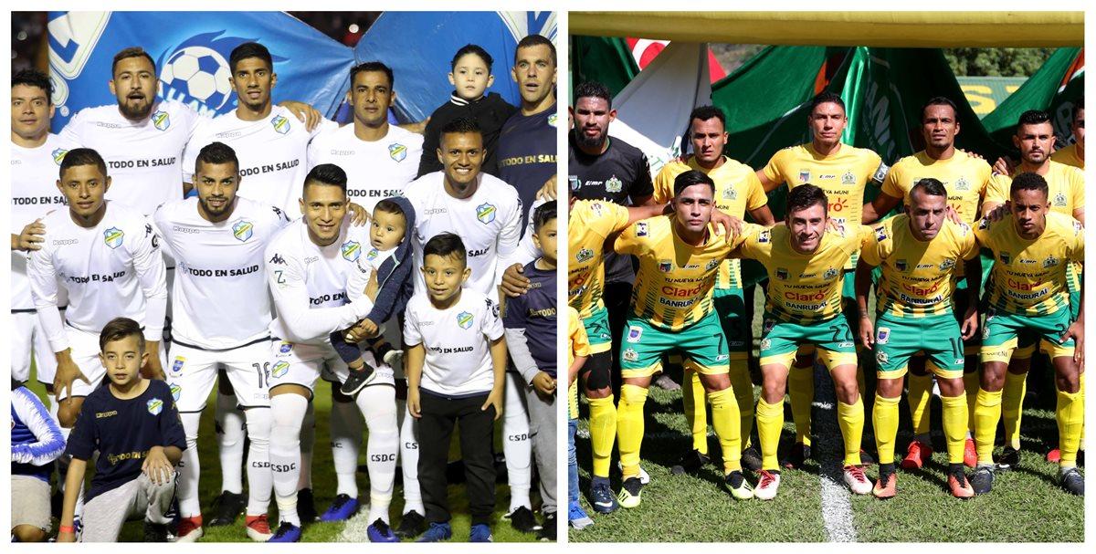 Comunicaciones y Guastatoya jugarán la final del torneo Apertura 2018. (Foto Prensa Libre: Hemeroteca PL)