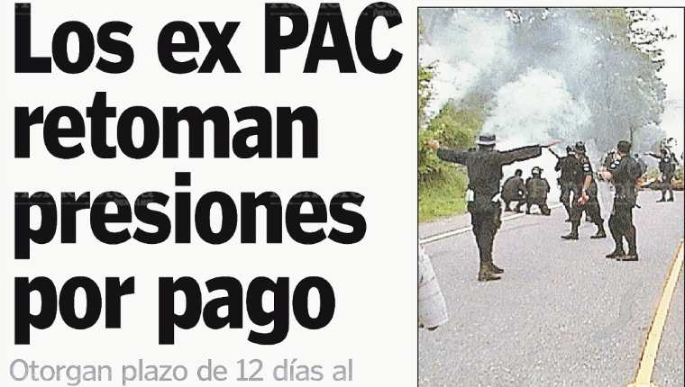 Expac protagonizan disturbios. (Foto: Hemeroteca PL)