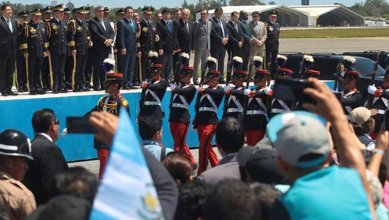 El Ejército cumplió 145 años el pasado 30 de junio. (Foto Prensa Libre: Álvaro Interiano)