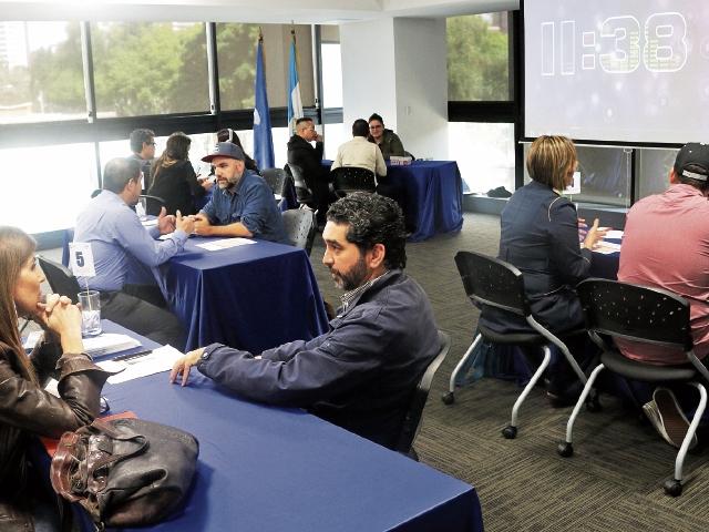 Productores de cine, fotografía y audiovisuales internacionales organizaron ruedas de negocios con empresas guatemaltecas,  con el objetivo de atraer inversiones y concretar negocios en el corto plazo. (Foto Prensa Libre: Cortesía Agexport)
