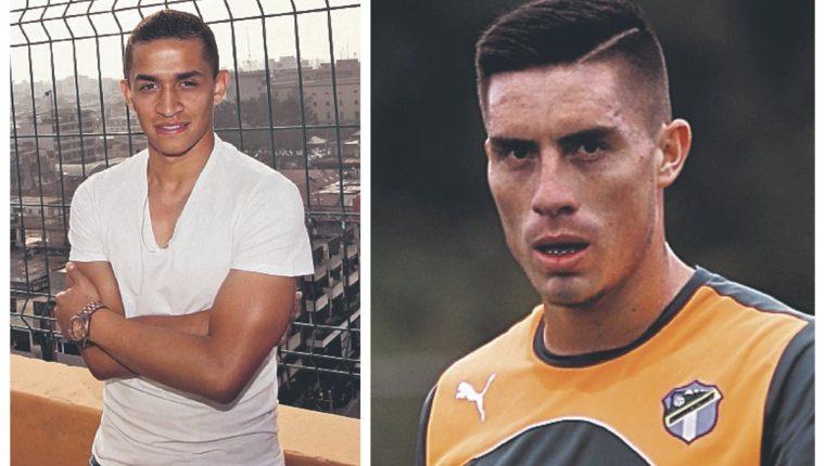 Marvin Ceballos y Elías Enoc Vásquez ya no son jugadores cremas. (Foto Prensa Libre: Hemeroteca PL)