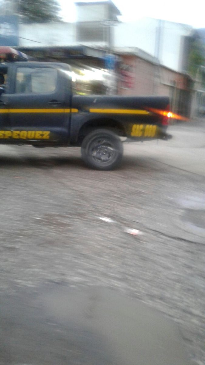 Policías habrían fotografiado al juez Pablo Xitumul. (Foto Prensa Libre: Cortesía)