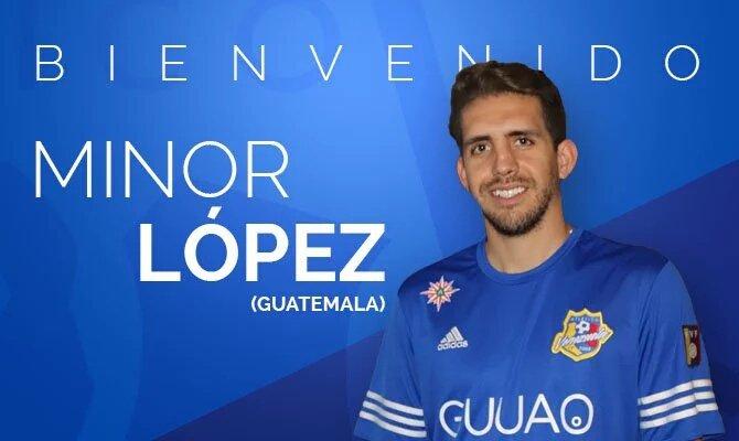 Minor López se convirtió en el tercer jugador guatemalteco que expondrá su talento en el futbol venezolano (Foto Prensa Libre: tomada de internet)
