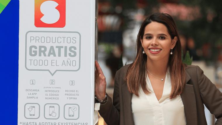 Alejandra Granai es especialista en estudios de mercado y del consumidor, y su emprendimiento apoya a las marcas con pruebas de productos. (Foto Prensa Libre: Carlos Hernández Ovalle)