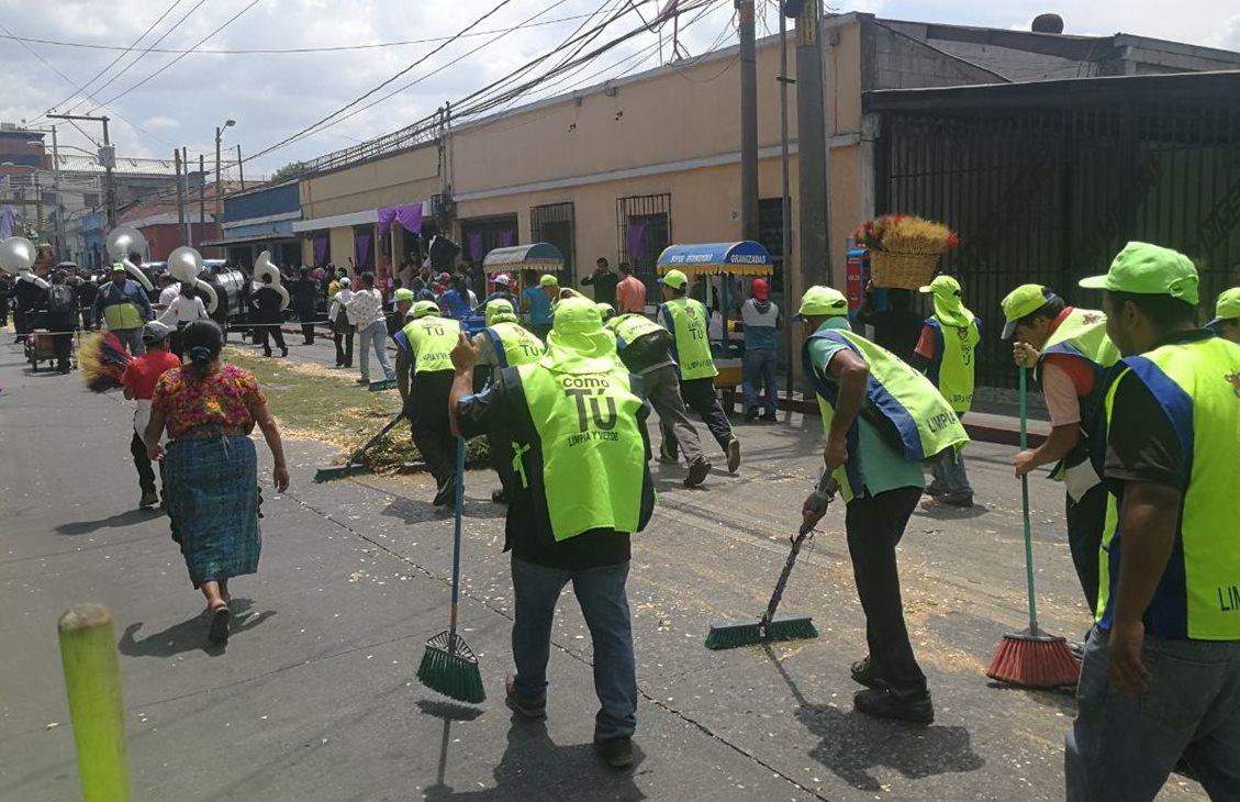 Comuna recogió 20 mil metros cúbicos de basura en la ciudad durante Cuaresma y Semana Santa