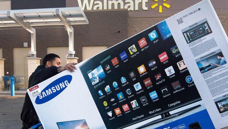 El promedio de consumo por persona para este Black Friday en Estados Unidos asciende a los US$1,007, según la Federación Nacional de Minoristas. (Foto Prensa Libre: AFP)