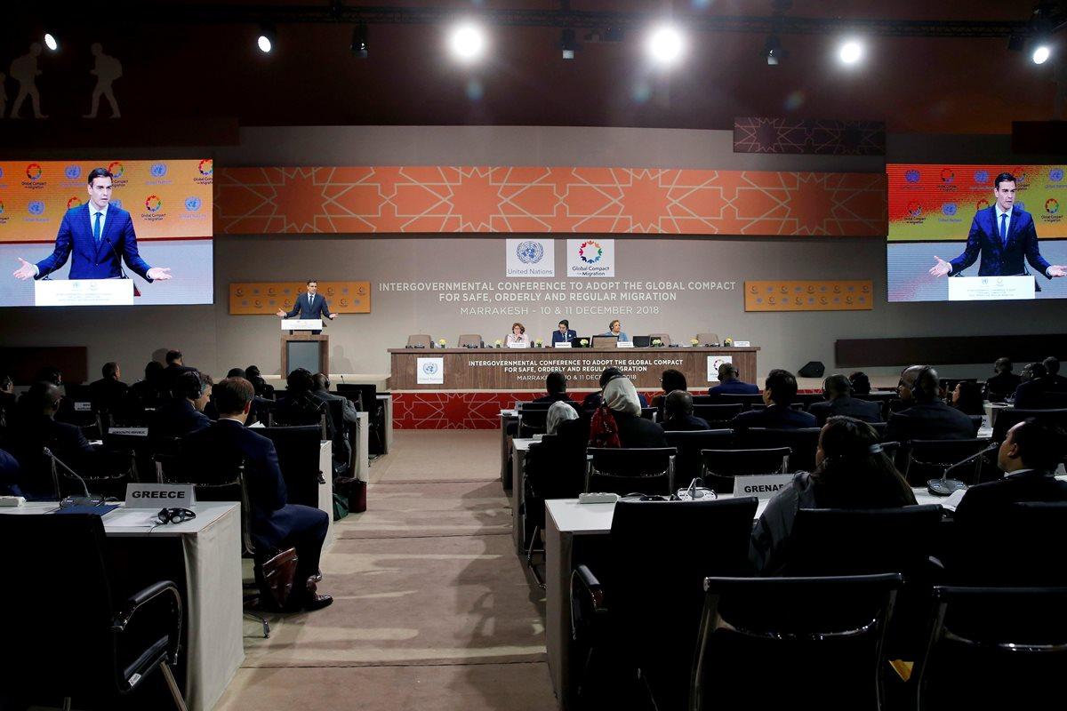 Pese a tensiones, la ONU adopta en Marruecos Pacto para las Migraciones