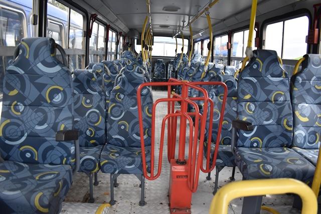 El proyecto Express Naranajo será financiado por Transportes EGA, que  brinda el servicio con buses rojos.(Foto Prensa Libre: Municipalidad de Mixco)