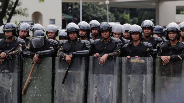 Solo unas semanas después de llegar al poder, dos mil personas supuestamente ligadas al narcotráfico fueron asesinadas en Filipinas. EPA