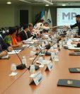 Diputados asisten a la presentación del proyecto de reforma sobre la prisión preventiva. (Foto Prensa Libre: Esbin García)