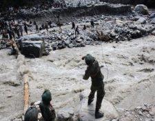 Inundaciones en Angola dejan varios muertos y desaparecidos. (Foto Prensa Libre: EFE)