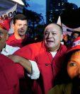 El presidente de la Asamblea Nacional de Venezuela, Diosdado Cabello. (Foto Prensa Libre:AP).