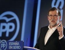 Mariano Rajoy participa en la Convención del PP. (EFE).