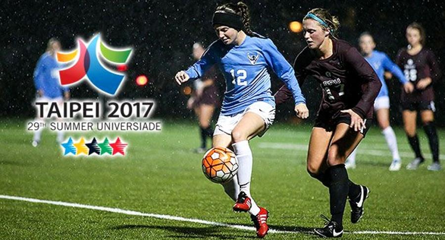 Equipo universitario colombiano de futbol femenino recibió 43 goles en contra en Taipei