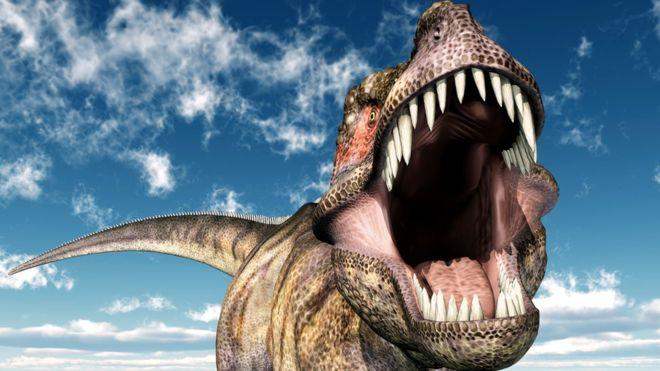 Los dinosaurios se hicieron muy efectivos en poblar cada espacio de la Tierra disponible hasta que no hubo más territorio, dicen los científicos. GETTY IMAGES
