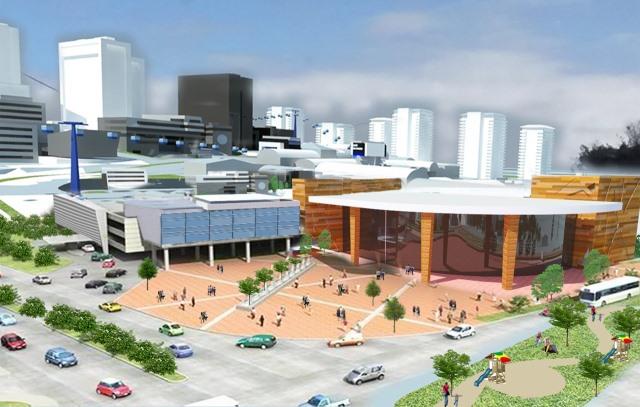 La Municipalidad de Villa Nueva impulsa ciudades compactas con residencias, centros comerciales y complejos financieros. (Foto Prensa Libre: Cortesía)