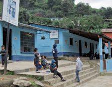 En la escuela de Panimajá, donde también funciona el puesto de Salud, se aprecia la escasa asistencia de estudiantes.