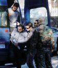 Los socorristas marítimos españoles fueron detenidos en la isla griega de Lesbos. (Foto Prensa Libre: AFP).