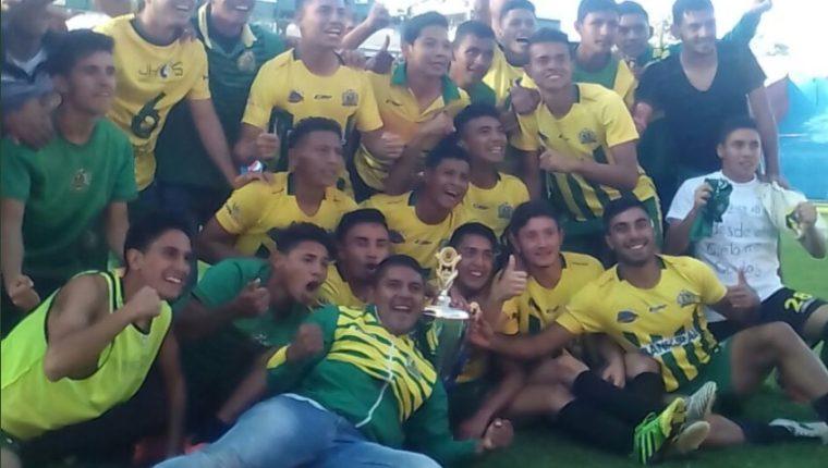 Guastatoya se quedó con el cetro de la categoría especial. (Foto tomada de la Liga Nacional)