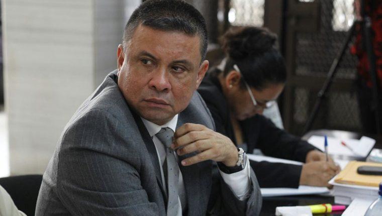 Morales Guerra busca que el Juzgado de Mayor Riesgo B le cambie de delito y le otorgue una medida sustitutiva. (Foto Prensa Libre: Paulo Raquec)