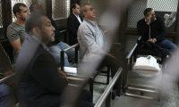 Sindicados en el caso Caja de Pandora asisten a audiencia de primera declaración. (Foto Prensa Libre: Carlos Hernández)